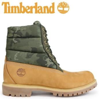 Timberland ブーツ メンズ 6インチ ティンバーランド 6-INCH PREMIUM PUFF BOOTS A1ZRH Wワイズ ウィート