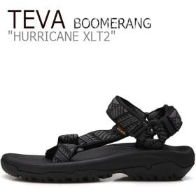テバ ハリケーン サンダル TEVA メンズ HURRICANE XLT2 ハリケーンXLT2 BOOMERANG BLACK ブラック 1019234-BNBK シューズ