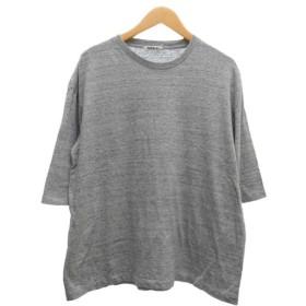 AURALEE ハーフスリーブTシャツ ライトグレー サイズ:1 (堅田店) 190804