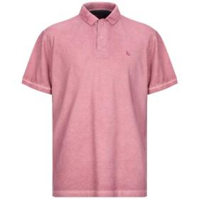 《期間限定セール開催中!》GRAN SASSO メンズ ポロシャツ コーラル 56 コットン 100%