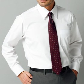 【メンズ】 出張や洗い替えにも便利!形態安定Yシャツ(長袖)(S-5L) - セシール ■カラー:ホワイトA(レギュラー衿) ■サイズ:L,S,3L,5L,LL,M,4L