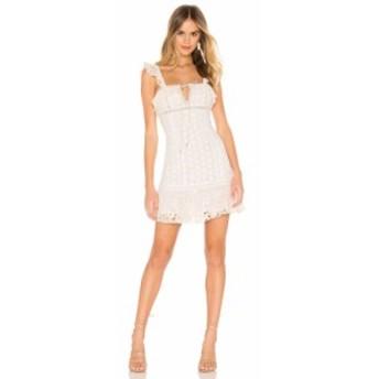 フリーピープル Free People レディース ワンピース ワンピース・ドレス Cross My Heart Mini Dress Ivory