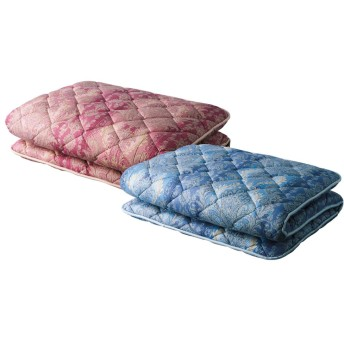 バーゲン寝具シリーズ 抗菌防臭・防ダニわた敷布団 シングルロングピンク