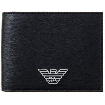 エンポリオアルマーニ EMPORIO ARMANI 財布 二つ折り ARMANI Y4R165 YLA0E 81072 BLACK