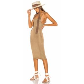 エルピーエー LPA レディース ワンピース ワンピース・ドレス Lanni Dress Gold