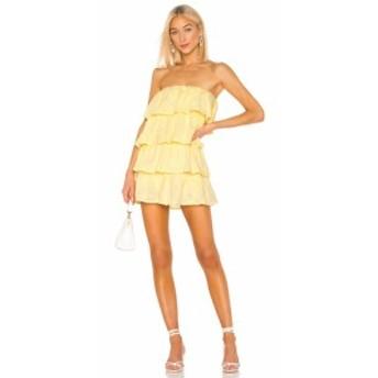 トゥラロサ Tularosa レディース ワンピース ワンピース・ドレス Finley Dress Pastel Yellow