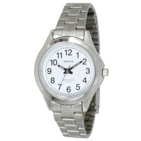 (CREPHA PLUS/クレファープラス)TELVA テルバ アナログウオッチ レディース 腕時計【TE-AL036】/ユニセックス 01ホワイト系