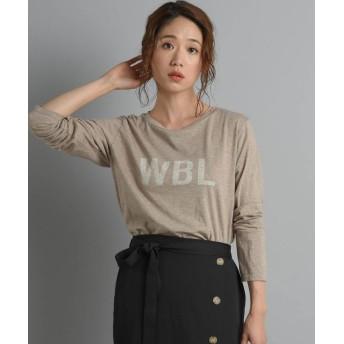 リップスター WBLロゴロングTシャツ レディース ベージュ M 【LIPSTAR】