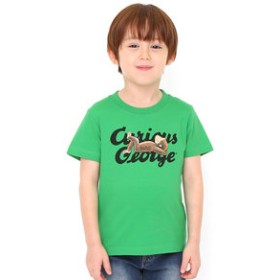 【グラニフ:トップス】キッズTシャツ/シエスタ(おさるのジョージ)