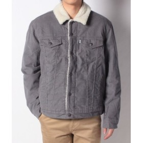 (LEVI'S OUTLET/リーバイス アウトレット)TYPE 3 SHERPA TRUCKER PEWTER CORD/メンズ ナチュラル