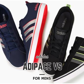 アディダス adidas メンズ スニーカー カジュアル シューズ 靴 ストリートADIPACE VS アディペースVS F34618 F34620 黒 紺