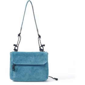 AS2OV AS2OV / アッソブ 防水 撥水 WATER PROOF SUEDE WALLET SHOULDER ショルダーバッグ,ターコイズ