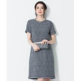 23区 S(ニジュウサンク エス)/【マガジン掲載】Brilliant tweed dress ワンピース