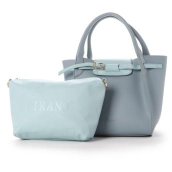 フィラノ FIRANO ベルトデザイントートバッグ (BLUE)