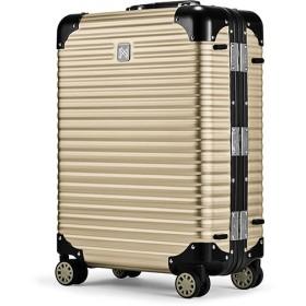 カバンのセレクション ランツォ スーツケース 機内持ち込み LANZZO NORMAN 34L Sサイズ ノーマン アルミフレーム アルミボディ ユニセックス ゴールド系1 フリー 【Bag & Luggage SELECTION】