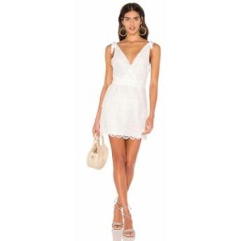 マジョレル MAJORELLE レディース ワンピース ワンピース・ドレス Juliette Dress White