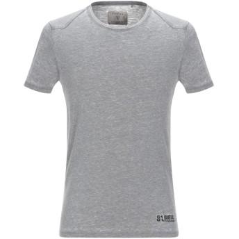 《セール開催中》GUESS メンズ T シャツ グレー XS ポリエステル 65% / コットン 35%