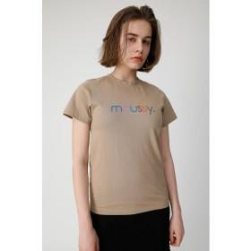 マウジー VARIOUS COLORS MOUSSY Tシャツ レディース L/BEG1 FREE 【MOUSSY】