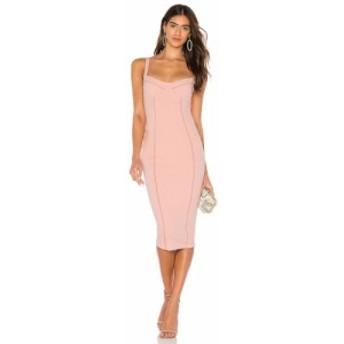 ノーキー Nookie レディース ワンピース ワンピース・ドレス Chicago Midi Dress Blush