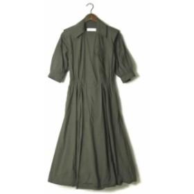 TOGA PULLA トーガ プルラ 19SS 日本製 Cotton taffeta shirt dress コットンタフタシャツドレス TP91-FH237 36