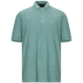 《期間限定セール開催中!》GRAN SASSO メンズ ポロシャツ グリーン 56 コットン 100%