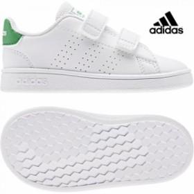 adidas【アディダス】 ADVANCOURT I (アドバンテージ) ランニングホワイト ベビー 赤ちゃん シューズ 靴 子供 adk 19FW ef0301