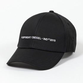 DIESEL ディーゼル 00SW2V 0NAUI CIMAXI CAPPELLO ロゴ刺繍 ベースボールキャップ 帽子 キャップ 900 メンズ