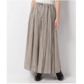 マーコート 【mizuiro ind】pleats スカート(BEIGE)