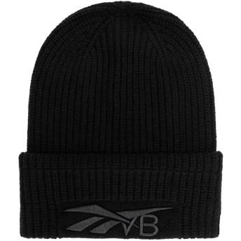 《期間限定セール開催中!》REEBOK x VICTORIA BECKHAM レディース 帽子 ブラック one size ウール 90% / カシミヤ 10% RBK VB BEANIE