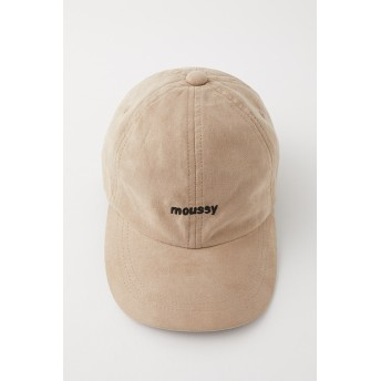 マウジー moussy MOUSSY SUEDE CAP (ライトベージュ)