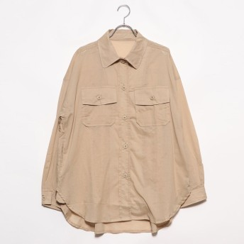 スタイルブロック STYLEBLOCK ローンCPOシャツ (ベージュ)