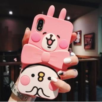 かわいいうさぎ ピンク iPhone 携帯電話カバー スマホケース全機種対応ケース iPhone6s/6/7/8/plus/X/XR/XS/XS Max