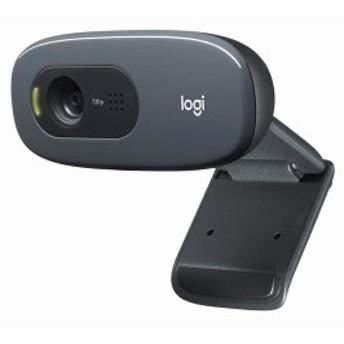 ウェブカメラ C270n ブラック HD 720P ウェブカム ストリーミング 小型 シンプル設計 国内 2年間メーカー保証 B07QMKND9M