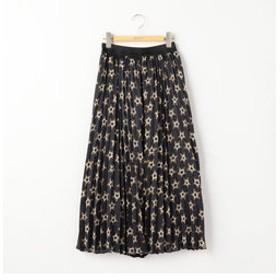 【NOLLEY'S:スカート】【STELLA CIFFON/ステラシフォン】別注★柄プリーツスカート