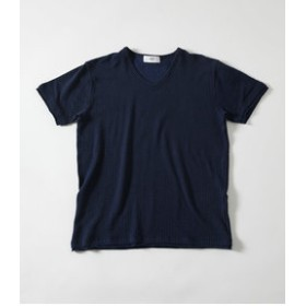 【AZUL by moussy:トップス】【MEN'S】STRIPE HALF SLEEVE TEE