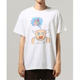 JOURNAL STANDARD 牛公Tシャツ2 ホワイト XL