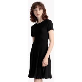 【Theory】Prosecco Pleat Tee Dress