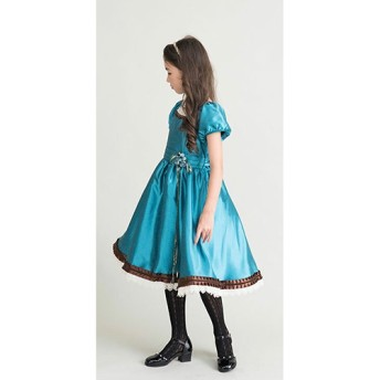 catherine cottage ガーデニアドレス○PC245OP ブルー キッズ・ベビーファッション