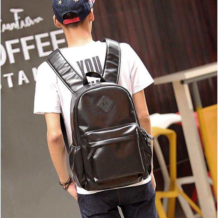 Mao  日韓新品時尚潮流休閒學院風購物旅行雙肩後背包