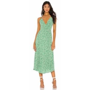 ラヴァーズフレンズ Lovers + Friends レディース ワンピース ワンピース・ドレス Heath Midi Dress Lucky Floral