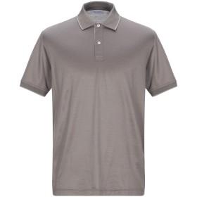 《期間限定セール開催中!》GRAN SASSO メンズ ポロシャツ ドーブグレー 48 コットン 100%