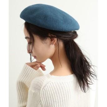 ビス フェルトベレー帽 レディース ダークグリーン(31) F 【ViS】