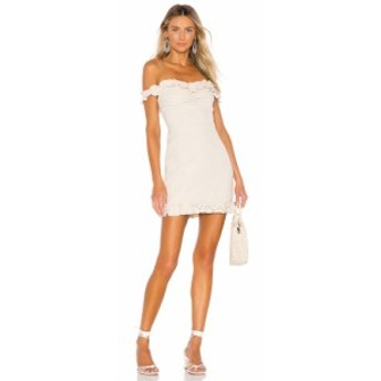 ラヴァーズフレンズ Lovers + Friends レディース ワンピース ワンピース・ドレス Lorraine Mini Dress French Vanilla