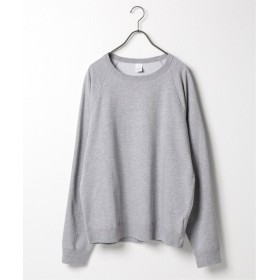 SAVE KHAKI UNITED SAVE KHAKI UNITED HEATHER FLEECE CREW SWEATSH グレーA M