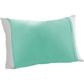 のびのび枕カバー(筒型・Tシャツ素材) - セシール ■カラー:ブルー コーラル ラベンダー