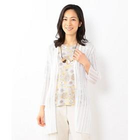 【SALE(三越)】<JANE MORE/ジェーンモア> オデッセイ ロングカーディガン(KRQMYM0502) ホワイト系 【三越・伊勢丹/公式】