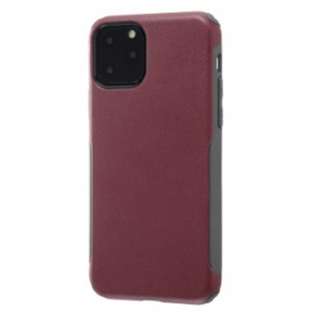 iPhone 11 Pro ケース 耐衝撃 MIL 衝撃吸収タフネスケース SAGAN / レッド / グレー