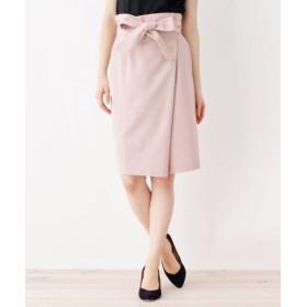 (index/インデックス)【洗える・吸水速乾】ラップタイトスカート/レディース ピンク(070)