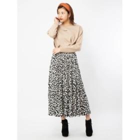 [マルイ]【セール】小花柄消しプリーツスカート/セシルマクビー(CECIL McBEE)