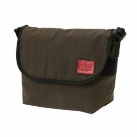 (Manhattan Portage/マンハッタン ポーテージ)CORDURA(R) Waxed Nylon Fabric Collection Casual Messenger Bag JR/ユニセックス D.Brown